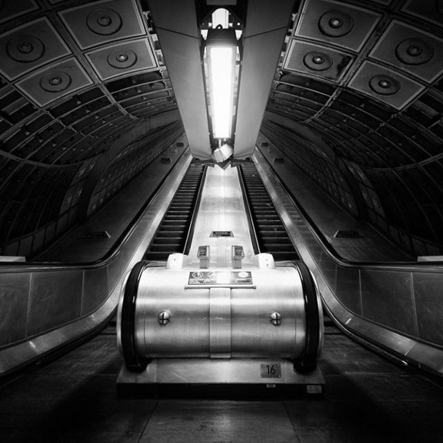 London Underground by Katherine Young