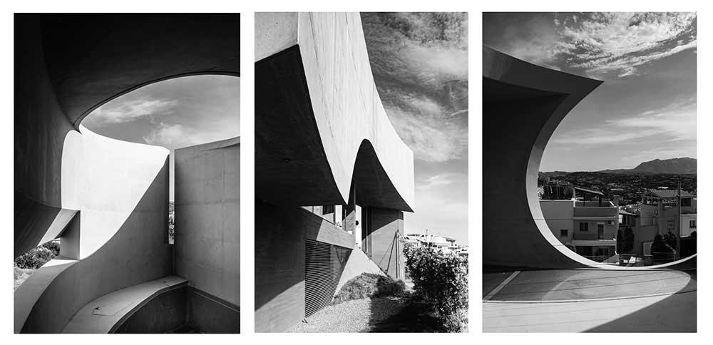 House in Heraklion by Tense Architecture Network, triptych, Crete, Juliana Rogers