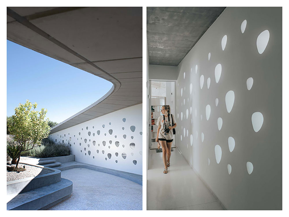 Diptych - Ypsilon House Filikounda, Juliana Rogers & Delaney Philips