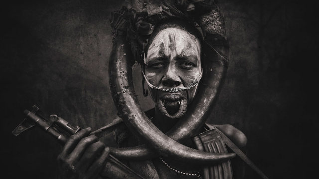 African tribes ; Mursi People by Svetlin Yosifov