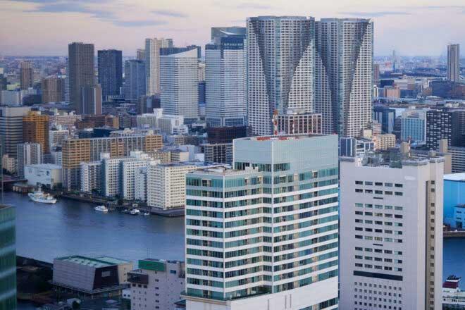 The View of the Tokyo's Subcenter by Masuda Yoshitaka