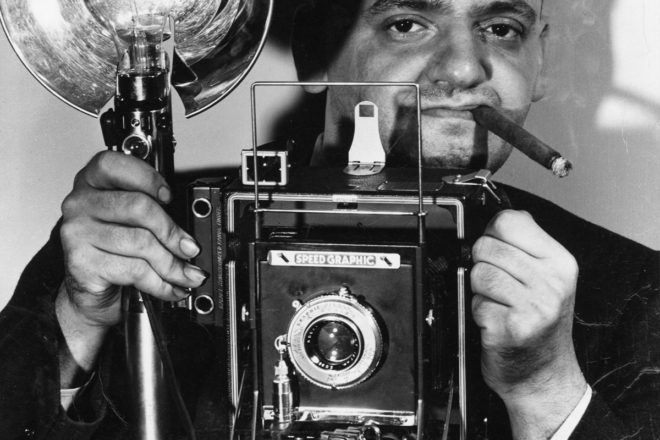 Weegee: stills of a crime's aftermath