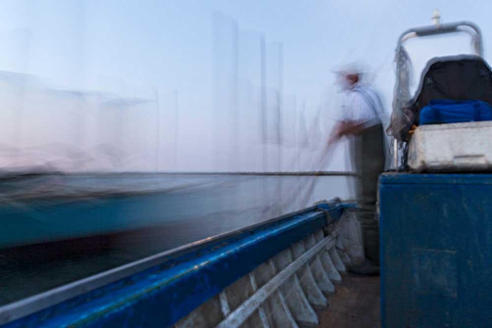 The fisherman by Sonia Fattori