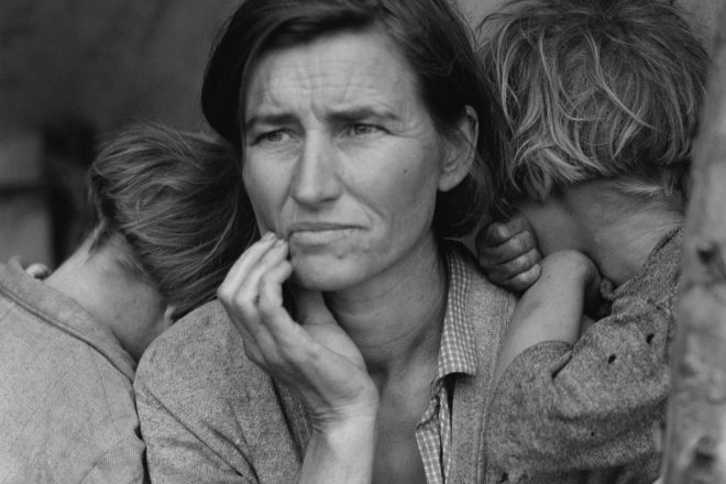 Dorothea Lange's Migrant Mother: A legend of the great depression