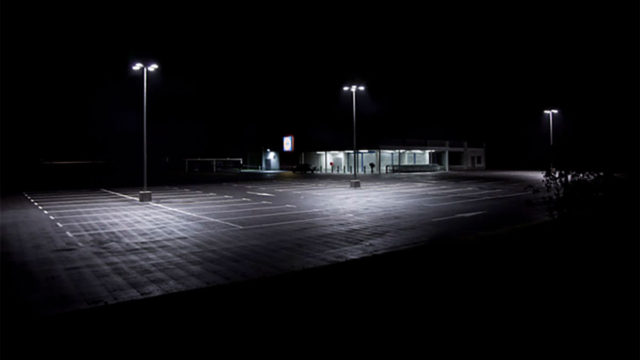 Night photography : Presence obscure by Xavier Blondeau
