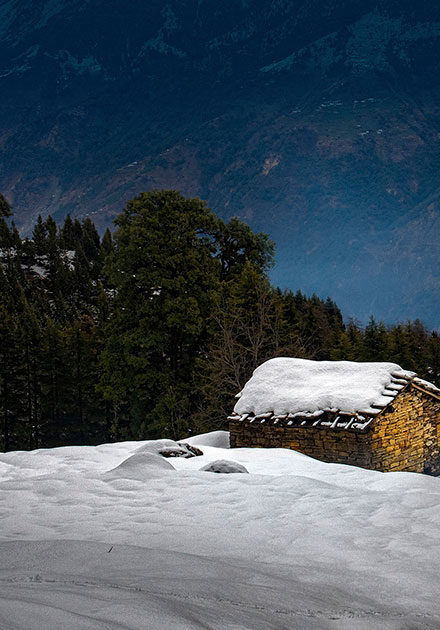 A place in the northern part of India by Shuvashis Saha