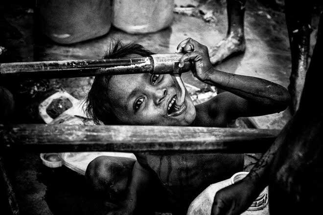 Rohingya refugees by Joxe Inazio Kuesta