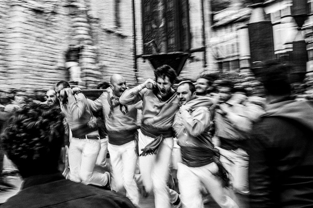 Italian celebration; Ceri Race by Giuseppe Cardoni
