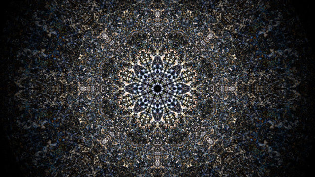Mandala in Digital Integration Unconsciousness by Byoung Ho Rhee