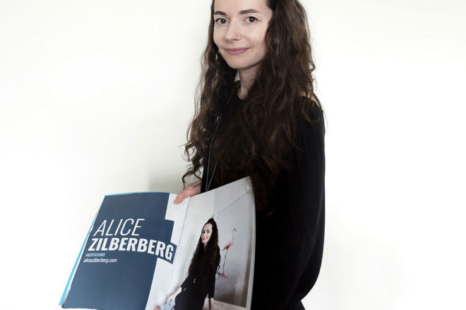 Interview with Alice Zilberberg; Published in our print edition #11