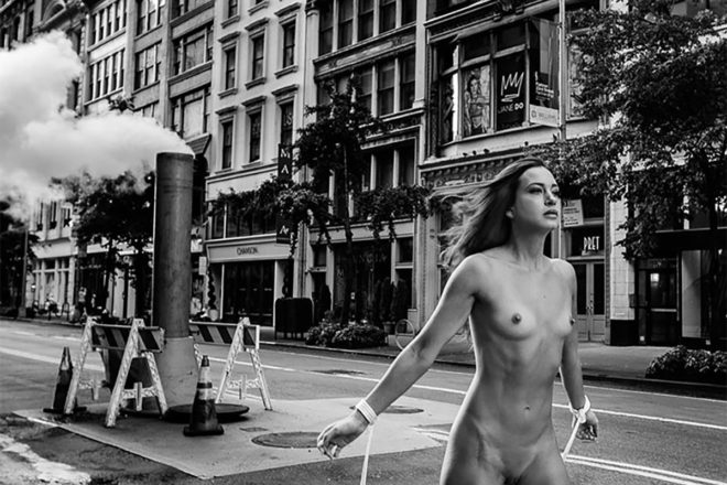 Erotic photography: Bound to New York by Gary Breckheimer