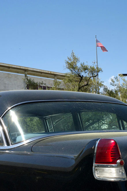 Cadillac; Fins & Flags by Lloyd Ziff