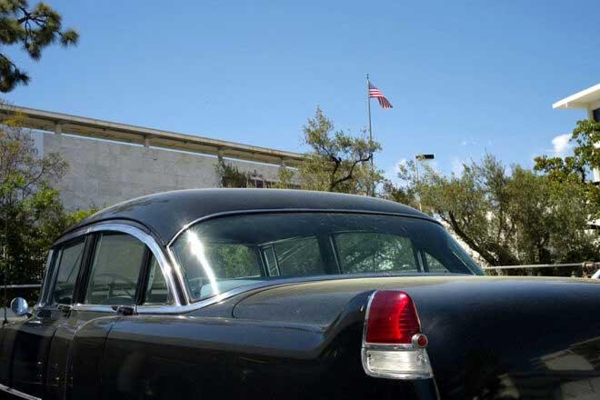 Cadillac; Fins & Flags by Lloyd Ziff