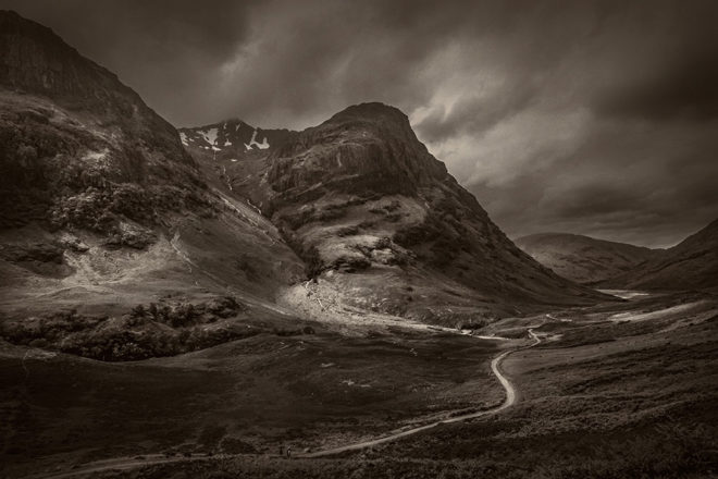 Scottish Highlands- A journey in monochrome by Abhijit Bose