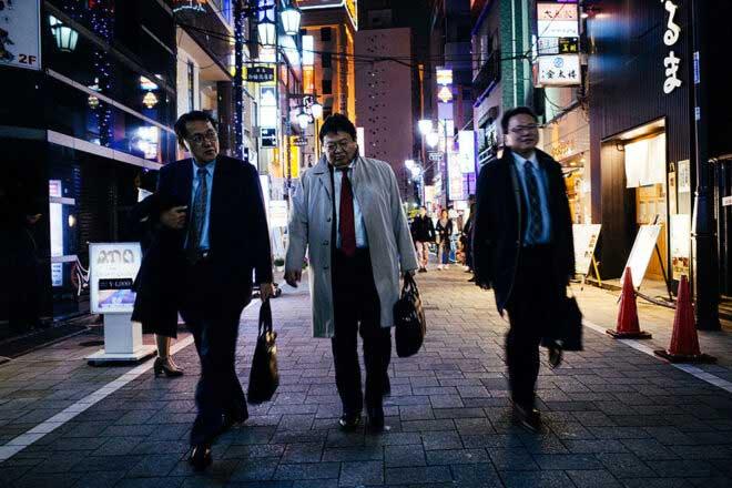 Tokyo; Suits of kabukicho by Rokas Jankus