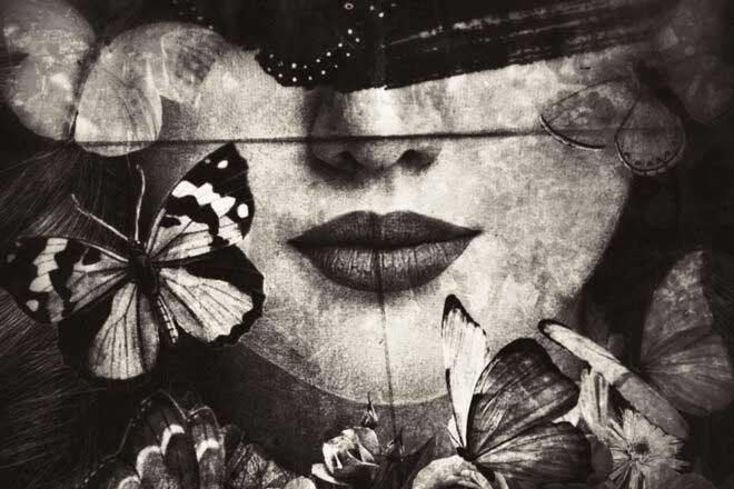 Write a poem of silence by Carmelita Iezzi